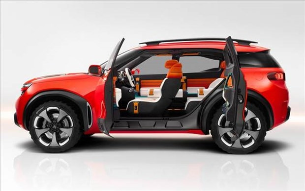 Citroen'den 100 kilometrede 1.7 litre yakan SUV - Page 2