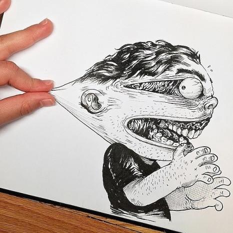 Çizdiği karakterlere resmen işkence eden ressamın birbirinden eğlenceli 7 çalışması - Page 2