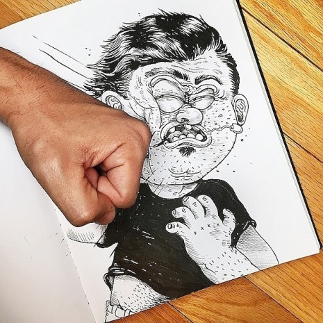 Çizdiği karakterlere resmen işkence eden ressamın birbirinden eğlenceli 7 çalışması - Page 4