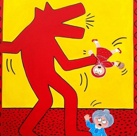 Çocuk hayal gücüyle yeniden resmedilmiş dünyaca ünlü ressamların tabloları - Page 4