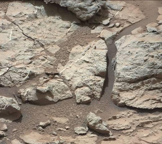 Curiosity 'suyu' taşta buldu! - Page 2