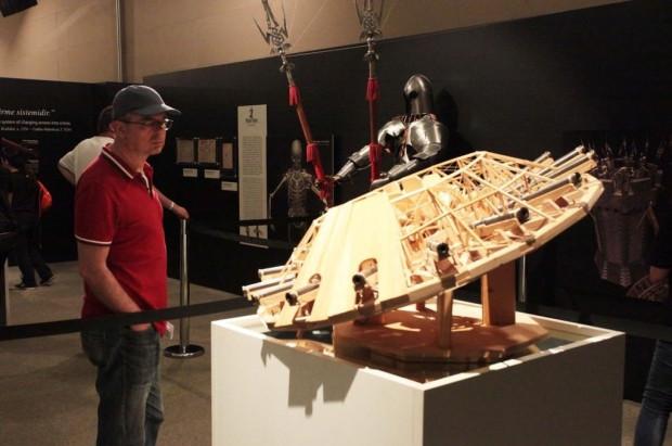 Da Vinci'nin makineleri sergileniyor - Page 1
