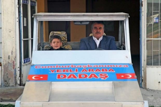 Dadaşmobili Cumhurbaşkanı Erdoğan için yaptı - Page 1