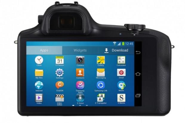 Değiştirilebilir lensli fotoğraf makinesi Galaxy NX'e bir bakış - Page 1