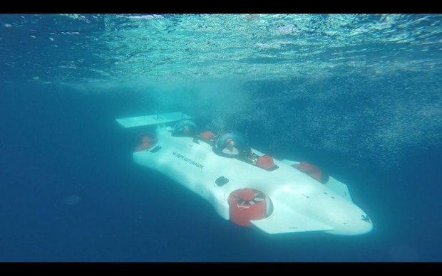 Deniz ejderhası DeepFlight ile bir deneyim - Page 1