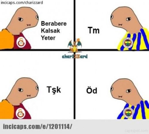 Derbi sonrası Fenerbahçe - Galatasaray capsleri - Page 3
