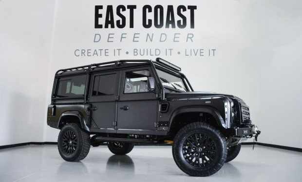 Devasa boyutuyla Land Rover Defender Beast - Page 1