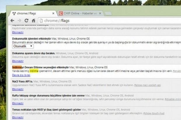 Dikkat edilmesi gereken Chrome özelliği - Page 3