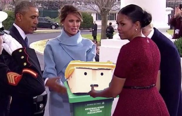 Donald Trump'a benzetilen bir çöp kutusu fenomen oldu - Page 1