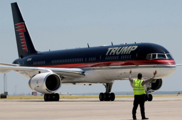 Donald Trump'ın 100 milyon dolarlık uçağı - Page 1