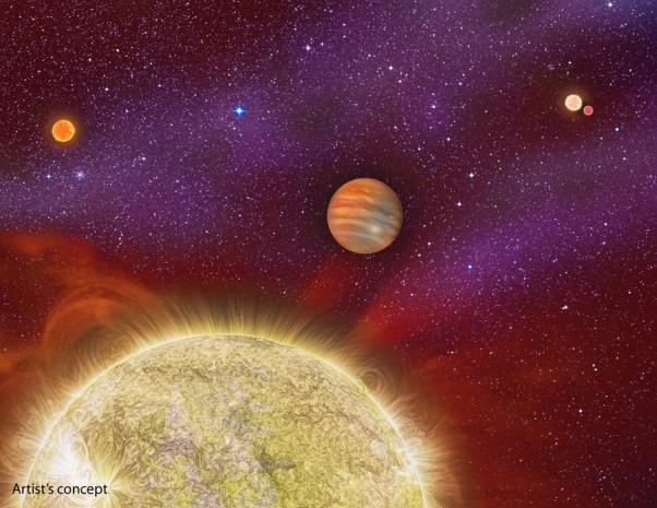 Dört güneşli gezegen keşfedildi - Page 3