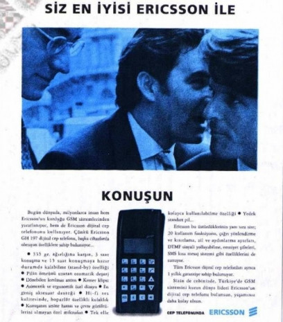 Dudaklarda alaycı bir tebessüm bırakan eski cep telefonu reklamları - Page 2