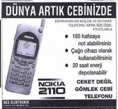 Dudaklarda alaycı bir tebessüm bırakan eski cep telefonu reklamları - Page 4