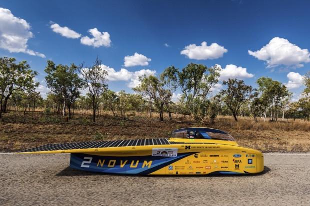 Dünya Güneş Arabaları Yarışı başladı - Page 2