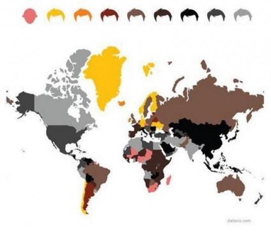 Dünya hakkında birbirinden ilginç bilgiler veren 20 harita! - Page 3