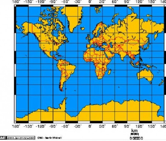 Dünya haritasında Rusya neden Afrika'dan daha büyük görünüyor? - Page 1