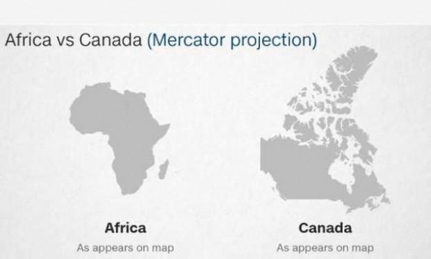 Dünya haritasında Rusya neden Afrika'dan daha büyük görünüyor? - Page 2