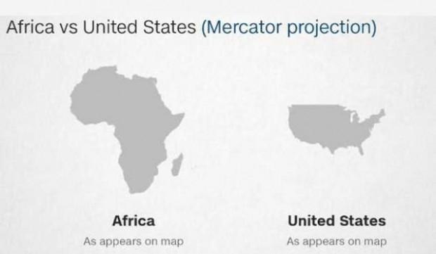 Dünya haritasında Rusya neden Afrika'dan daha büyük görünüyor? - Page 3