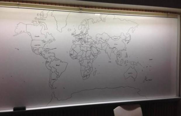 Dünya haritasını akıldan çizebilen otizmli çocuk - Page 1