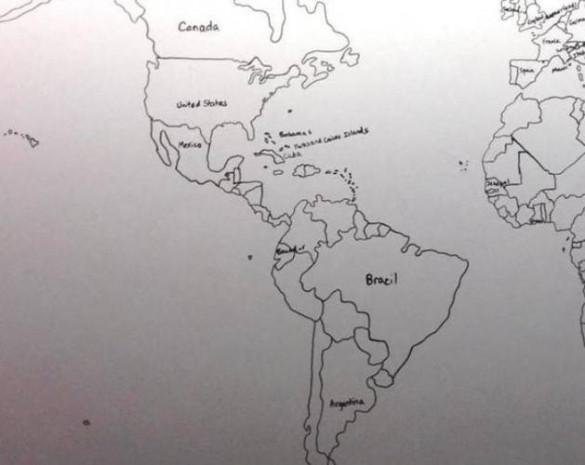 Dünya haritasını akıldan çizebilen otizmli çocuk - Page 2