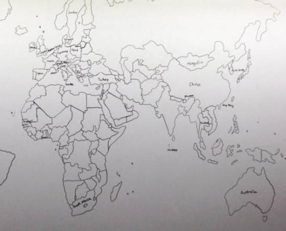 Dünya haritasını akıldan çizebilen otizmli çocuk - Page 3