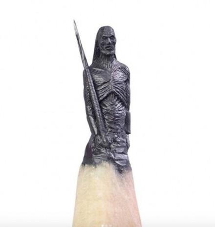Dünya kurşun kalemlerle yaptığı heykelleri konuşuyor - Page 4