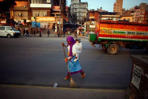 Dünyadan günün fotoğraf galerisi 26.12.2012 - Page 4