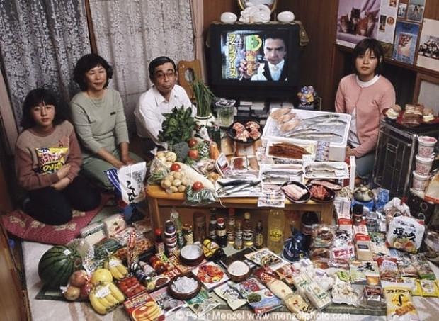 Dünyanın 22 ülkesinden ortalama bir ailenin sofraları ve haftalık gıda masrafları - Page 1