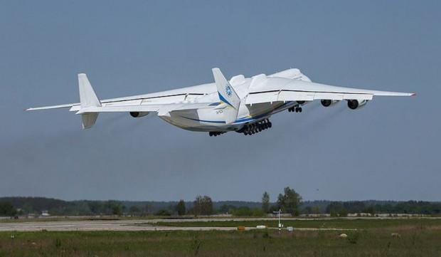 Dünyanın en büyük ve en güçlü uçağı An-225 ilk ticari uçuşunda - Page 1
