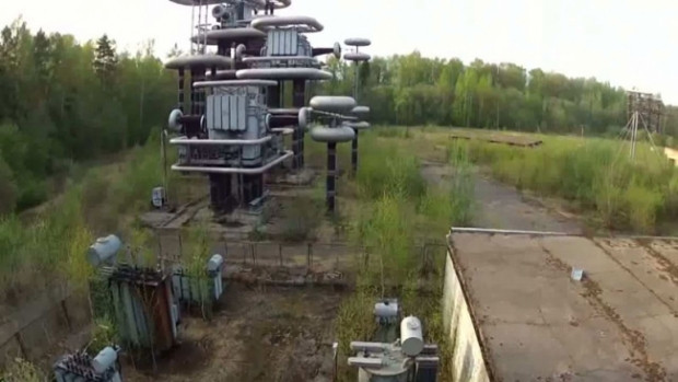 Dünyanın en büyük yıldırım makinelerinin yer aldığı tesis - Page 2