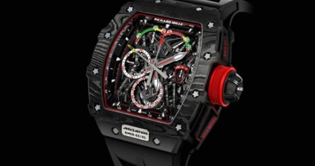 Dünyanın en hafif saati Richard Mille RM 50-03 McLaren - Page 1