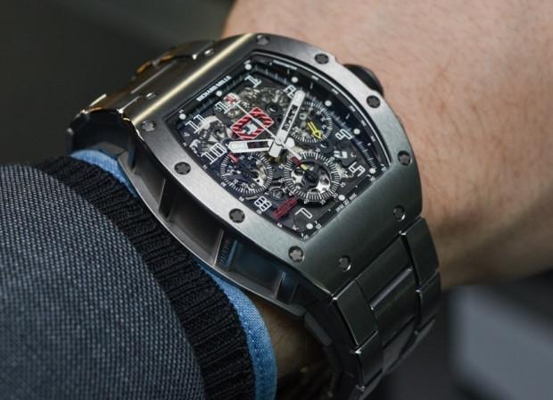 Dünyanın en hafif saati Richard Mille RM 50-03 McLaren - Page 3