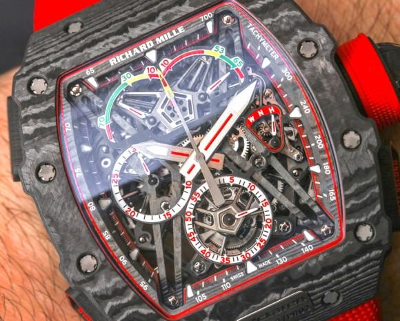 Dünyanın en hafif saati Richard Mille RM 50-03 McLaren - Page 4