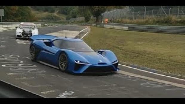 Dünyanın en hızlı elektrikli otomobili NIO Ep9! - Page 1