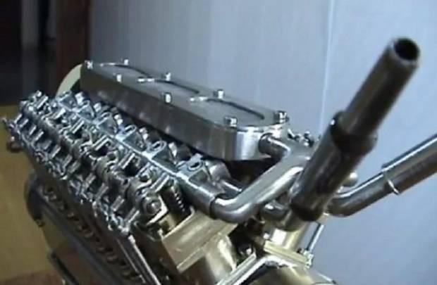 Dünyanın en küçük V-12 motoru - Page 2