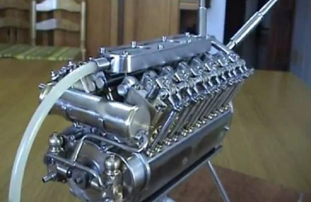 Dünyanın en küçük V-12 motoru - Page 3