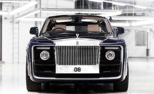 Dünyanın en pahalı arabası Rolls-Royce'un Sweptail - Page 1