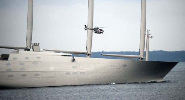 Dünyanın en pahalı ve en büyük yatı Superyacht 'A' - Page 2