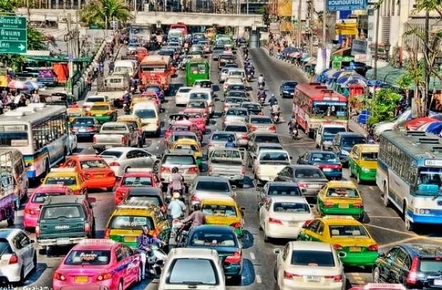Dünyanın en sıkışık trafiklerine sahip 10 şehir - Page 1
