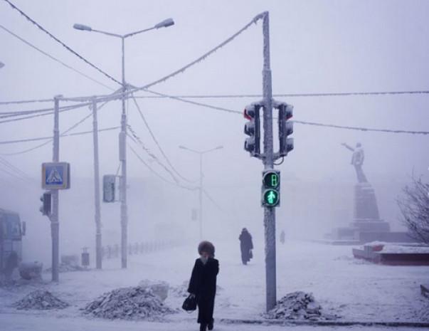 Dünyanın en soğuk yeri, -91 derecede yaşam! - Page 1