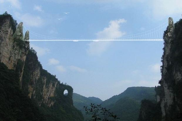 Dünyanın en yüksek ve en uzun cam köprüsü - Page 1