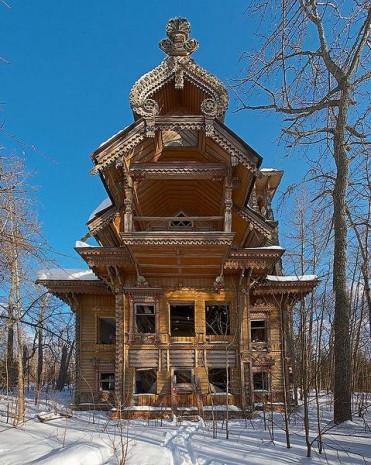 Dünyanın farklı bölgelerinde inşa edilen masalsı evler - Page 1