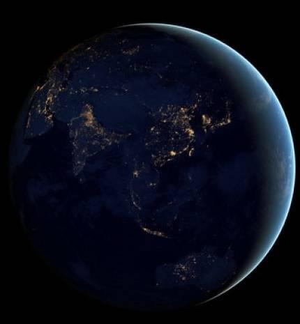Dünya'nın gece manzarası - Page 1