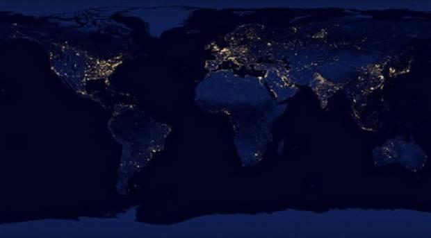 Dünya'nın gece manzarası - Page 4