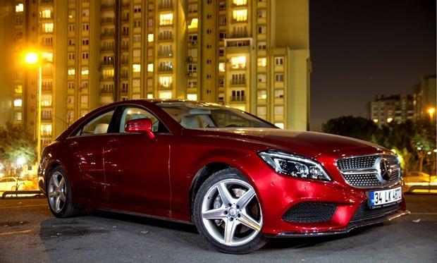 'Dünyanın ilk dört kapılı Coupe'si Mercedes CLS yenilendi - Page 3