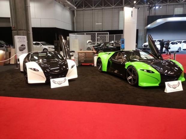 Dünyanın ilk elektrikli süper otomobili Dubuc Tomahawk - Page 1
