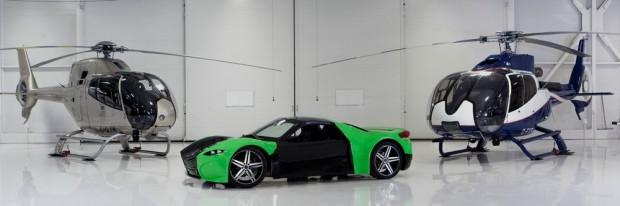 Dünyanın ilk elektrikli süper otomobili Dubuc Tomahawk - Page 3