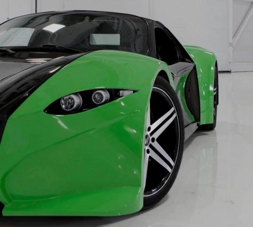 Dünyanın ilk elektrikli süper otomobili Dubuc Tomahawk - Page 4