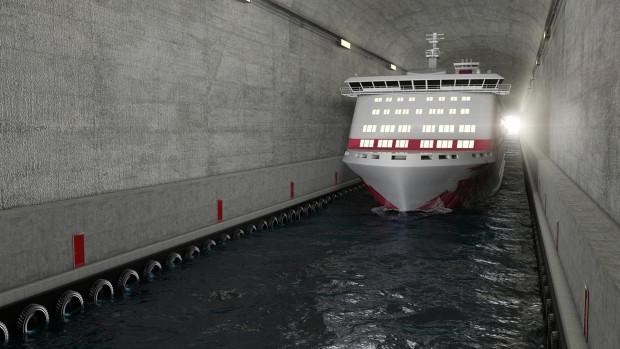 Dünyanın ilk gemi tünelini yapılıyor - Page 3