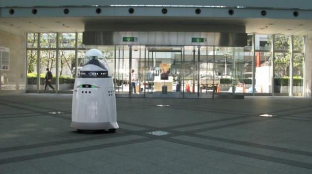 Dünyanın ilk robot güvenlik görevlisi! - Page 1